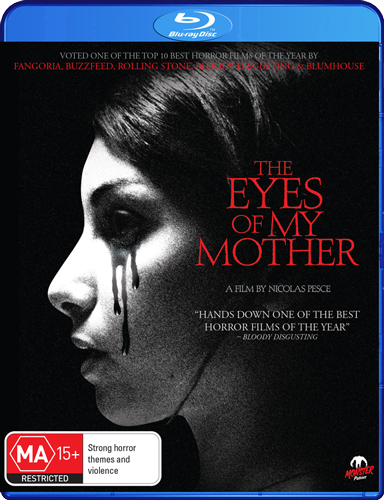 The Eyes of My Mother Blu-ray